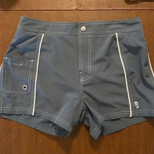 Free Country gray size Small 4/6 swim trunks
